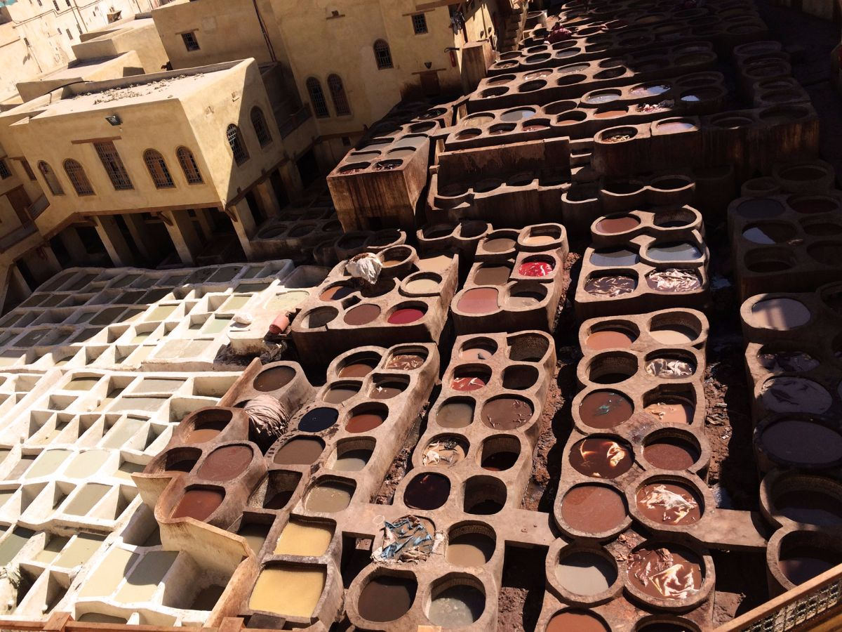 Curtidoría de Fez